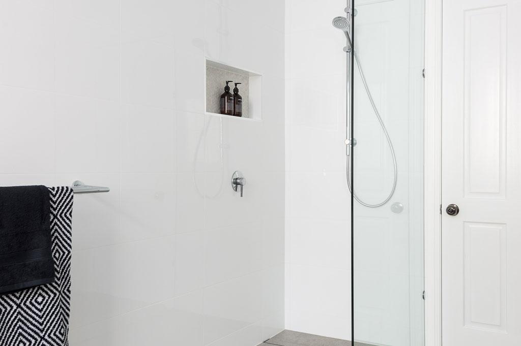 Bathroom Renovation Brisbane White Modern Style Bathroom Shower Glass